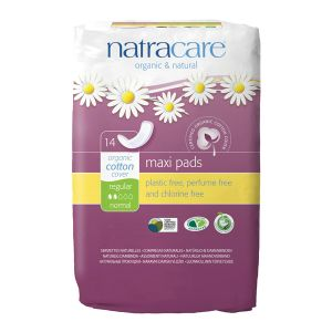 Natracare Pads Maxi  X 14 (regular)