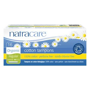 Natracare Organic All Cotton Applicator Tampons X 16 (regular)