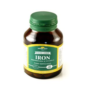 Natures Own Food State Iron 50 Vegetarian Tablets