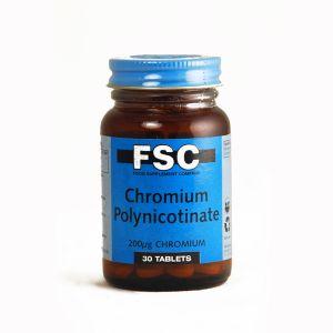 Fsc Chromium Picolinate 200mcg 30 Caps