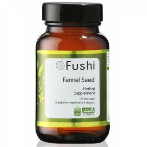 Fushi Organic Wholefood Fennel Seed 60 Capsules