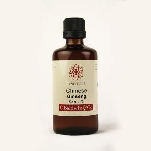 Baldwins Ginseng (san Qi) Chinese Herbal Tincture
