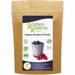 Golden Greens Organic Blueberry Powder 100g
