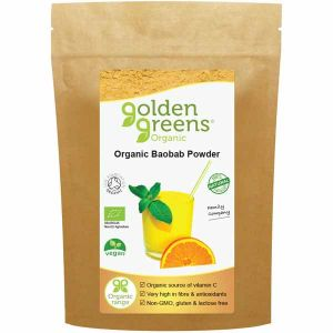 Golden Greens Organic Baobab Powder 100g