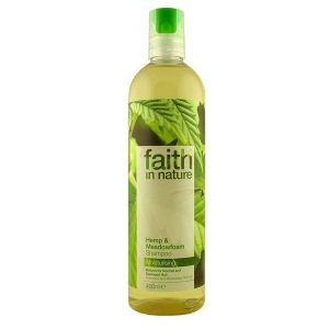 Faith In Nature Hemp And Meadowfoam Shampoo 400ml