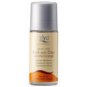 Alva Roll-on Crystal Deodorant - Vanilla & Orange 50ml