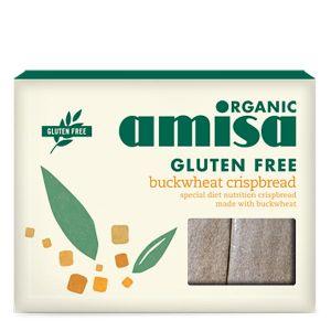 Amisa Organic Gluten Free Buckwheat Crispbread 150g