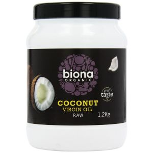 Biona Raw Organic Virgin Coconut Oil 1.2kg