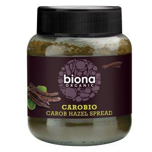 Biona Organic Carobio Carob Hazel Spread 400g