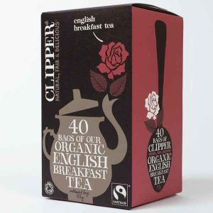 Clipper Organic English Breakfast Tea 40 Teabags