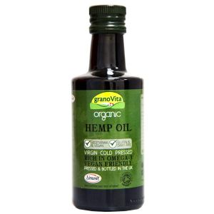 Granovita Organic Cold Pressed Hemp Oil Oil 260ml