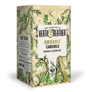 Heath And Heather Organic Camomile 20 Tea Bags