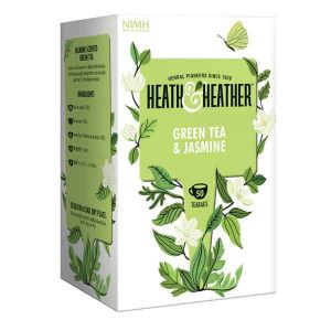 Heath And Heather Green Tea And Jasmine Tea 50 Tea Bags