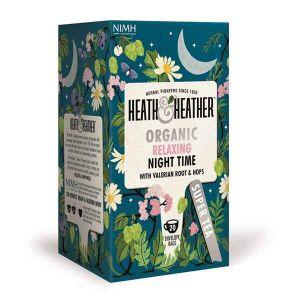 Heath And Heather Organic Night Time 20 Tea Bags