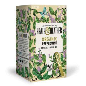 Heath And Heather Organic Peppermint Tea 20 Tea Bags