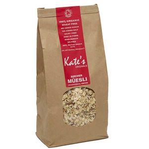Kate's Originals 100% Organic Traditional Swiss Bircher Muesli 500g