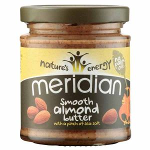 Meridian Organic Almond Butter with a hint of salt170g