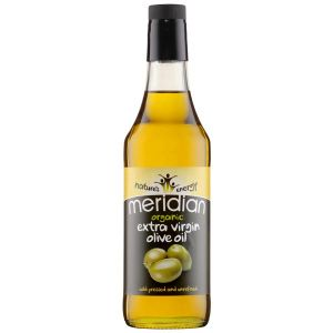Meridian Organic Cold Pressed Unrefined Extra Virgin Olive Oil 500ml