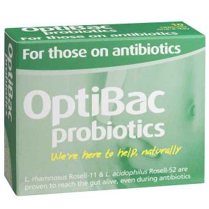 Optibac Probiotics For Those On Antibiotics 10 Capsules