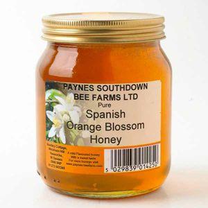 Paul Paynes Spanish Orange Blossom Honey (clear) 340g