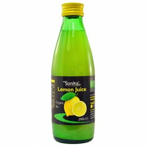 Sunita Organic Lemon Juice 250ml
