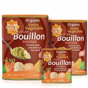 Swiss Vegetable Bouillon Vegan Organic (red/brown)