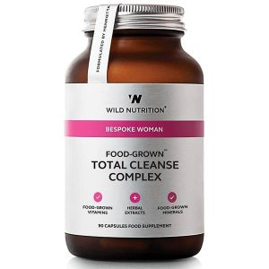 Wild Nutrition Bespoke Woman Food-Grown Total Cleanse Complex 90 Capsules