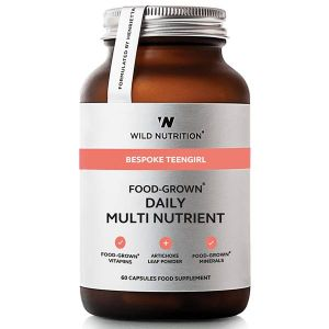 Wild Nutrition Bespoke Teengirl Food-Grown Daily Multi Nutrient 60 capsules