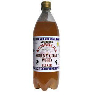 Lewtress Kombucha Original Drink Horny Goat Weed 1litre