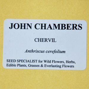 John Chambers Chervil Seeds  (anthriscus Cerefolium)