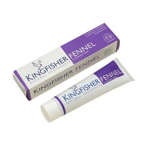 Kingfisher Fluoride Free Fennel Toothpaste  100ml