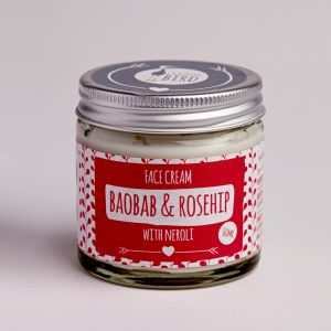 Laughing Bird Baobab & Rosehip Face Cream With Neroli