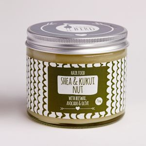 Laughing Bird Shea & Kukui Nut Hair Food (with Avocado, Olive & Beeswax) 250ml