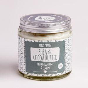 Laughing Bird Shea & Cocoa Butter Hand Cream (with Geranium & Lemon)