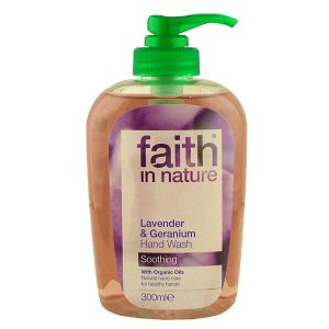 Faith In Nature Lavender And Geranium Hand Wash 300ml