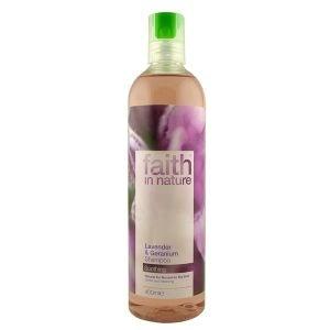 Faith In Nature Lavender And Geranium Shampoo 400ml