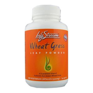 Lifestream Wheatgrass Capsules 120