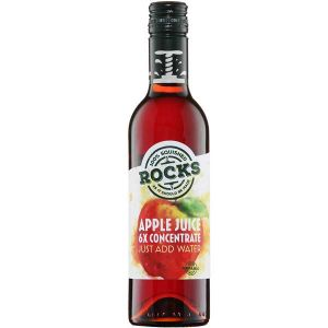 Rocks Natural Apple Fruit Juice Concentrate 360ml