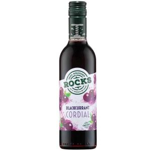 Rocks Organic Blackcurrent Cordial 360ml