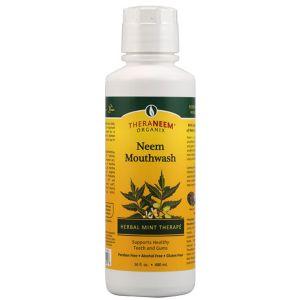 Theraneem Naturals Neem Mint Mouthwash 480ml