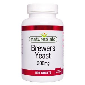Natures Aid Brewers Yeast 300mg 500 Tablets