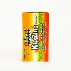Natures Plus Animal Parade Kid Zinc 90 Lozenges Tangerine Flavour