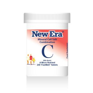 New Era Mineral Cell Salts Combination C 240 'fastmelt' Tablets