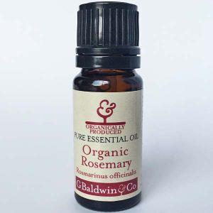 Baldwins Rosemary Organic (rosmarinus Officinalis) Essential Oil