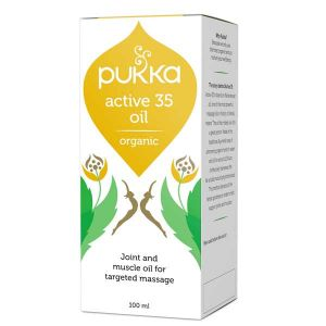 Pukka Herbs Active 35 Joint & Muscle Massage Oil 100ml
