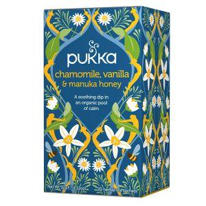 Pukka Chamomile, Vanilla & Manuka Honey Tea (20 Sachets)