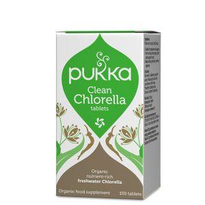 Pukka Herbs Clean Chlorella Tablets