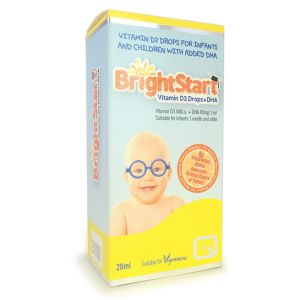 Quest Bright Start Vitamin D3 Drops + DHA (For Infants & Children) 20ml