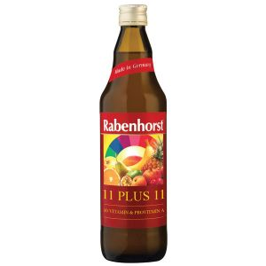 Rabenhorst 11 Plus 11 Yellow Multi-Fruit & Multi-Vitamin Juice 750ml