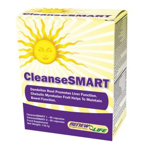 Renew Life Cleansesmart 30 Day Cleanse Kit